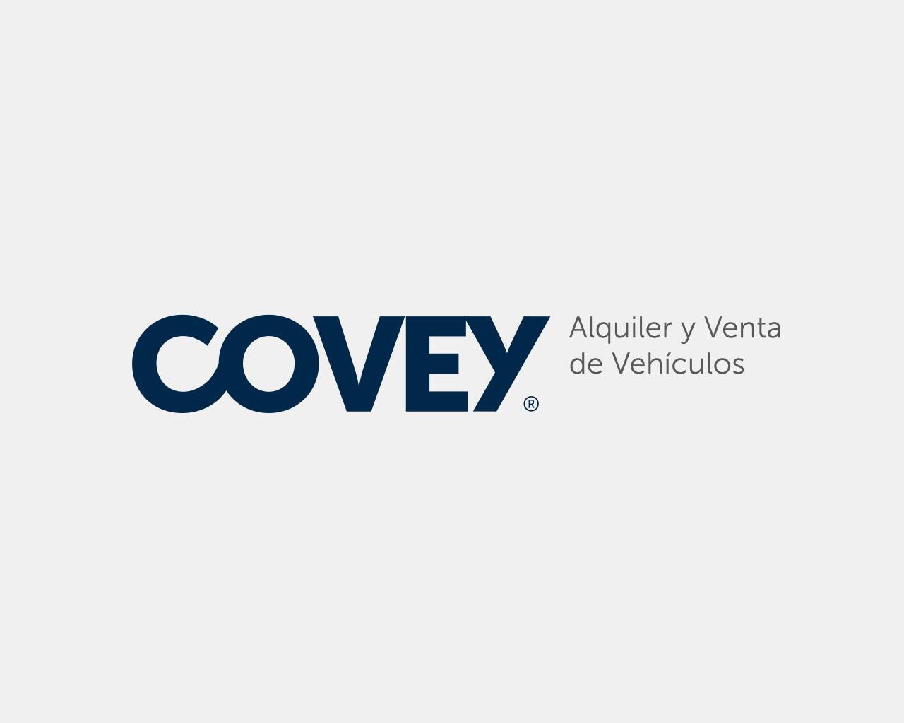Logo Covey Alquiler de Vehículos, diseñado por Momo & Cía.
