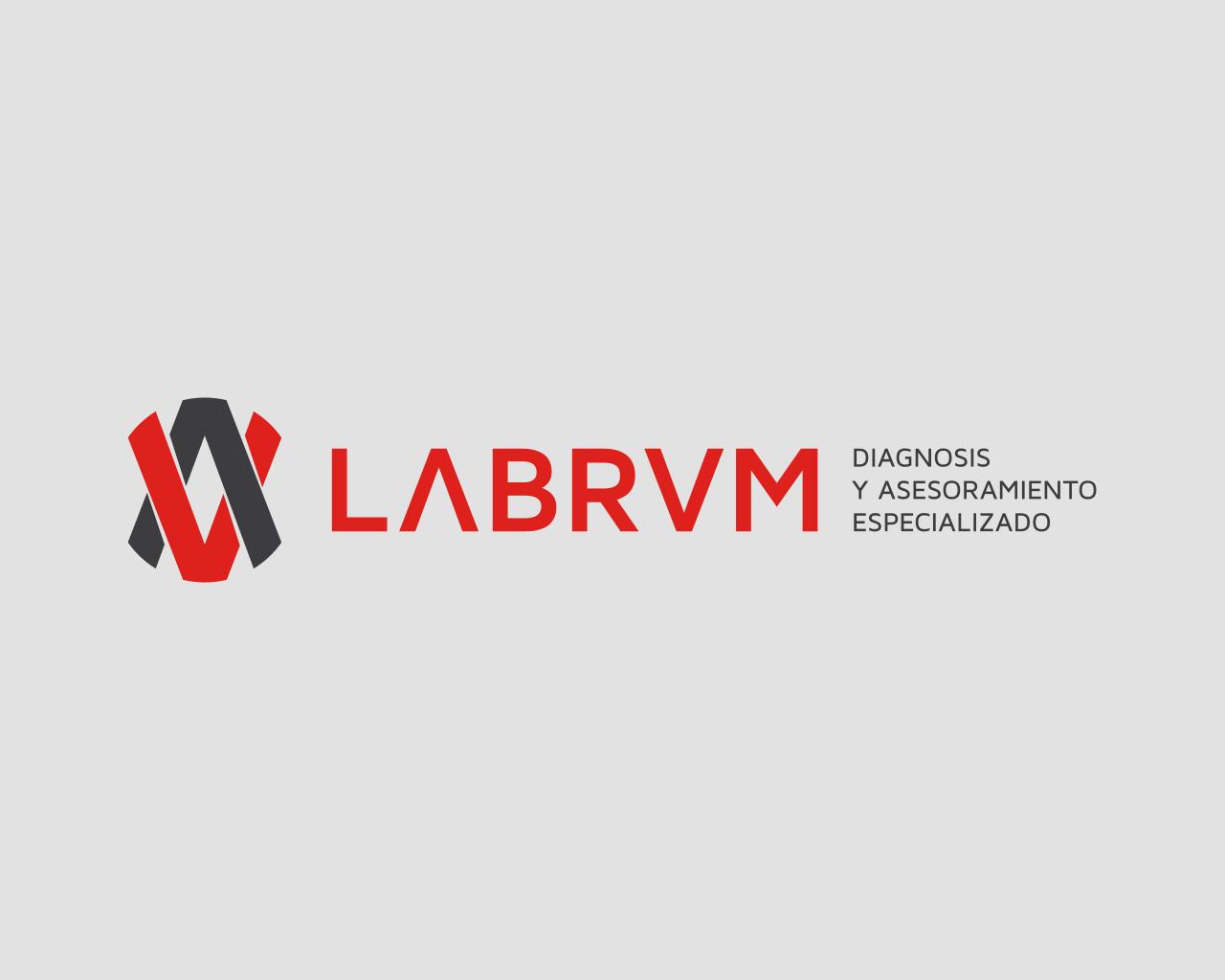 Logo Labrum, diseñado por Momo & Cía.
