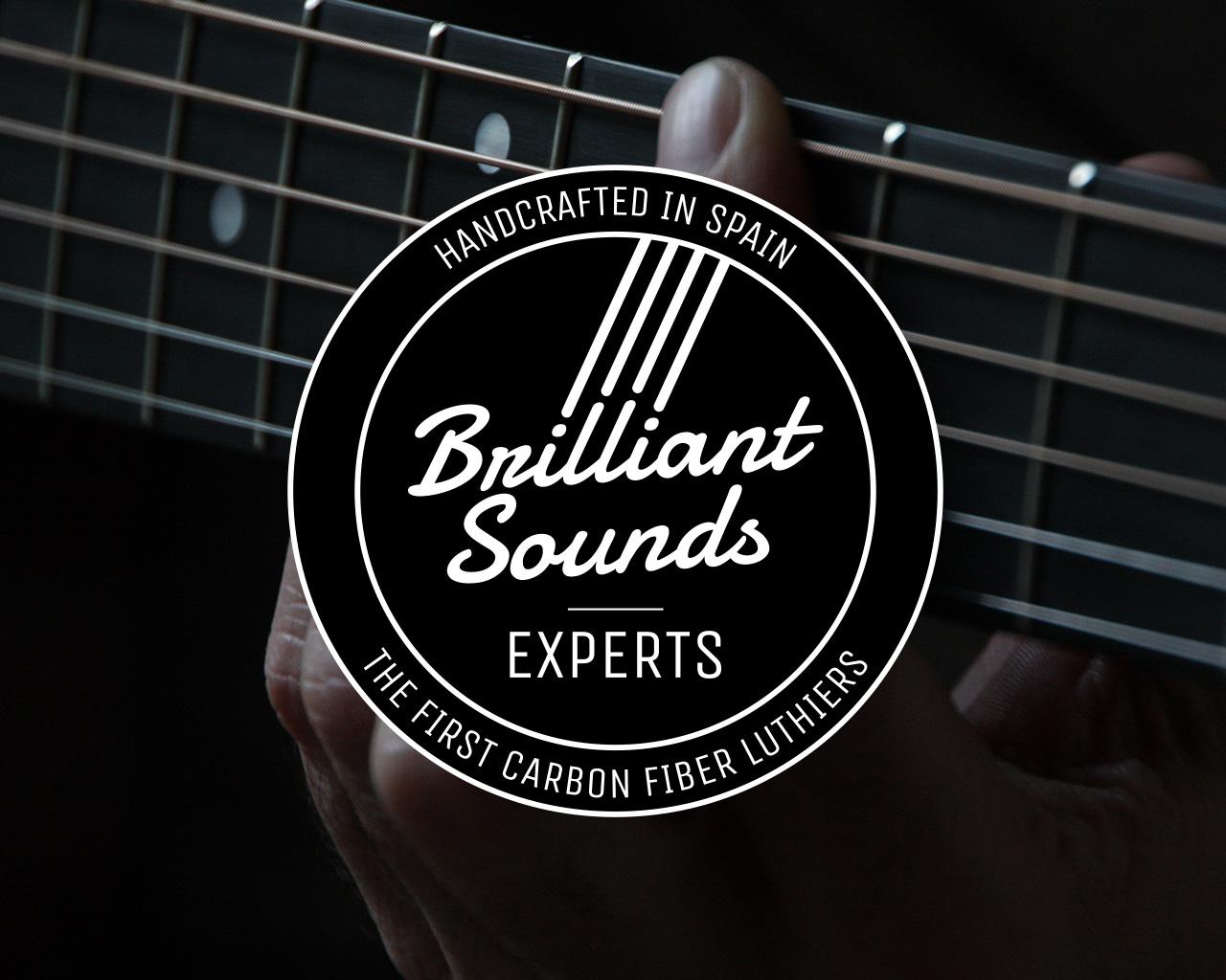Marca Brilliant Sounds Experts- Diseñada por Momo & Cía.