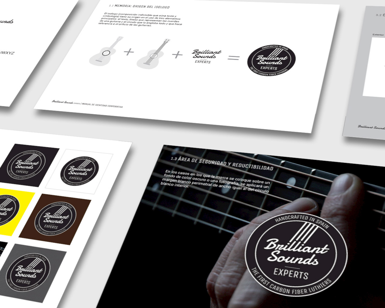 Manual de identidad corporativa de Brilliant Sounds Experts