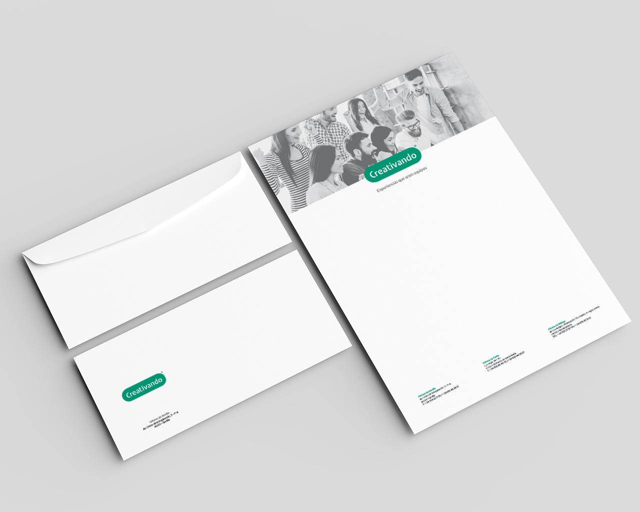 Creativando - Sobres - Diseño: Momo & Cía.
