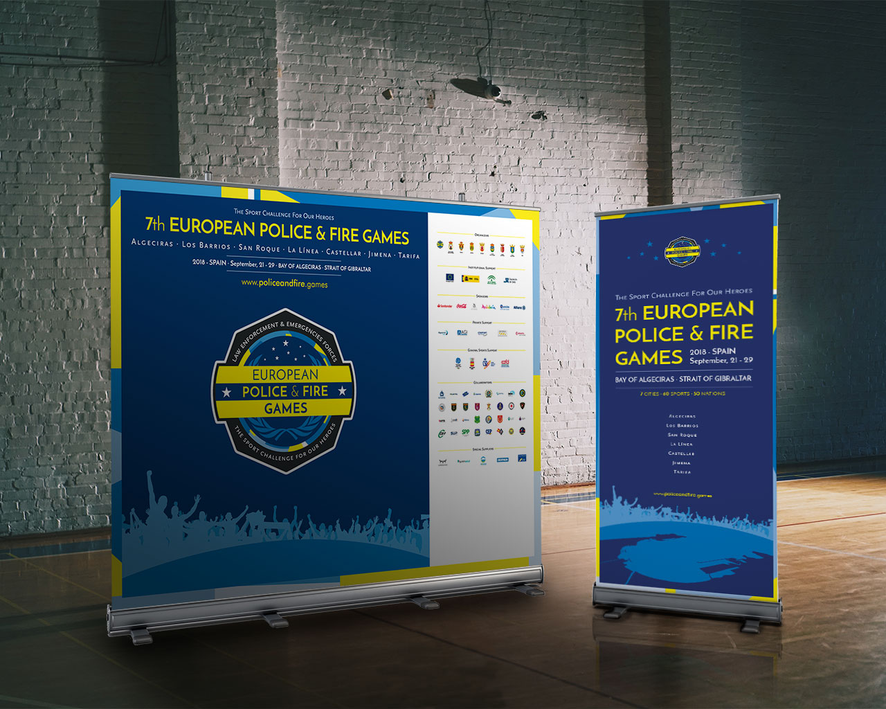 Photocall European Police and Fire Games 2018