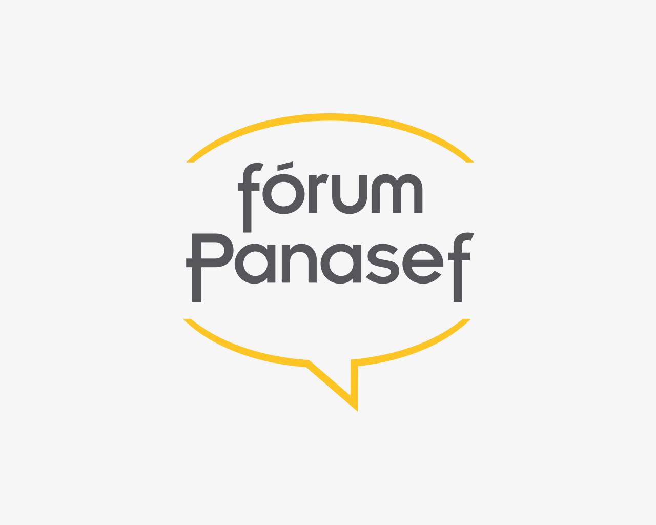 Logo del Fórum Panasef - Diseñado por Momo & Cía.