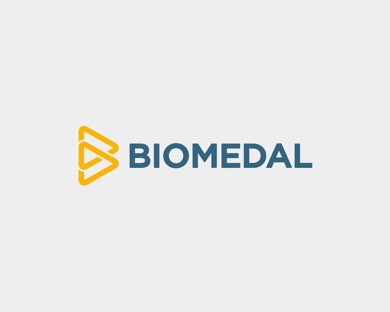 Logo Biomedal diseñado por Momo & Cía.