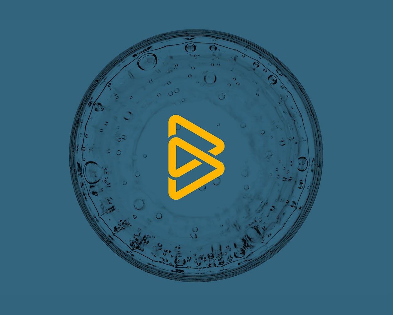 Símbolo Biomedal, diseño de Momo & Cía.