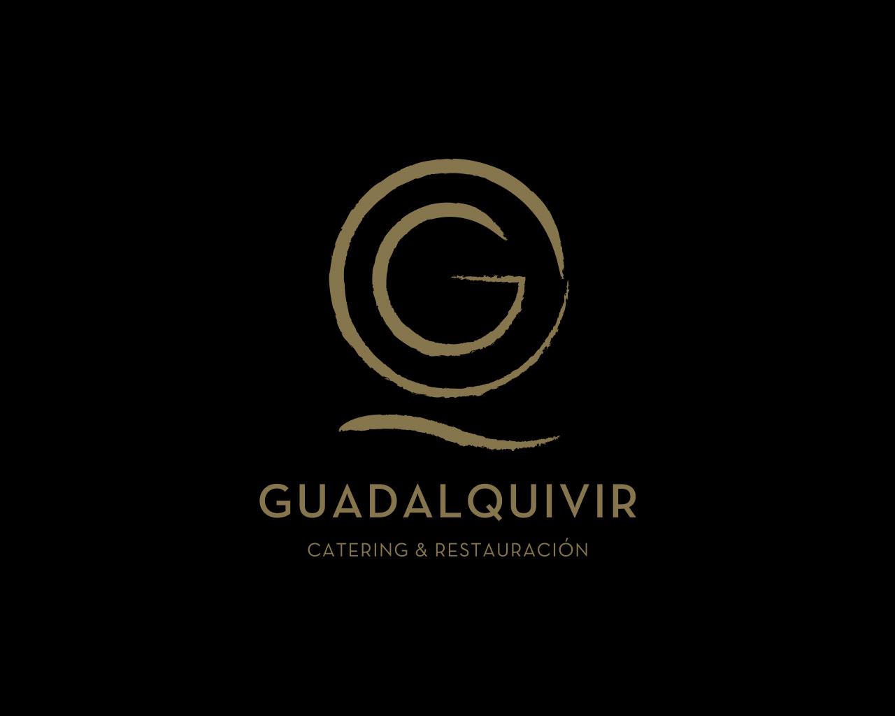 Diseño de marca Guadalquivir Catering por Momo & Cía.
