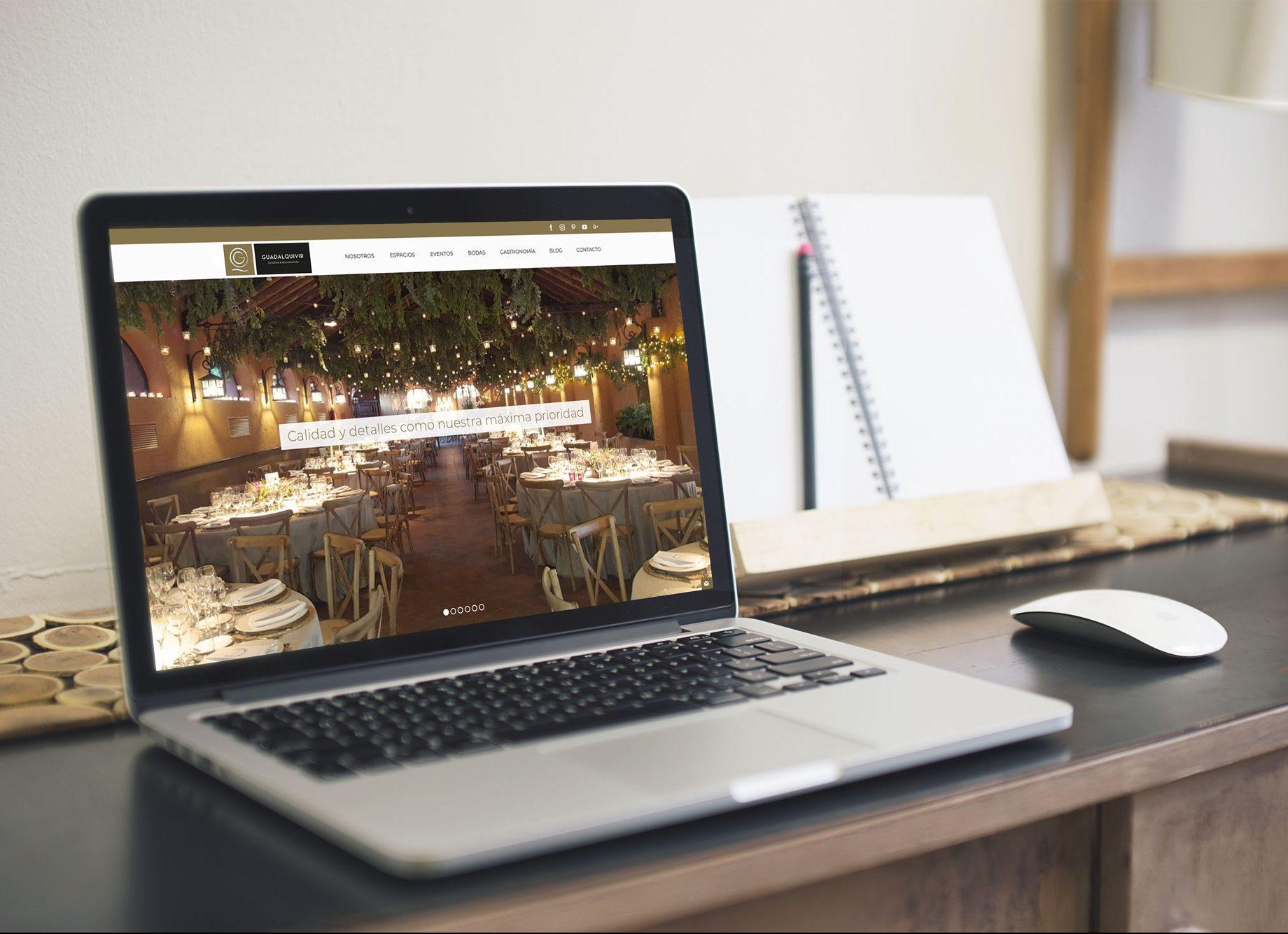 Web de Guadalquivir Catering