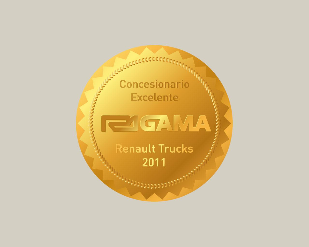 Sello Concesionario Excelente - R1GAMA