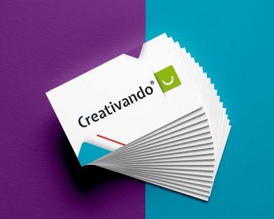 Tarjeta de visita Creativando