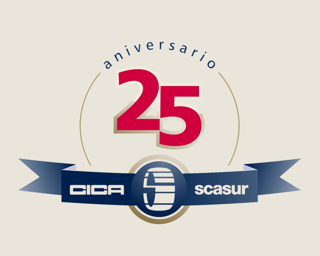 Marca 25 aniversario CICA-Scasur