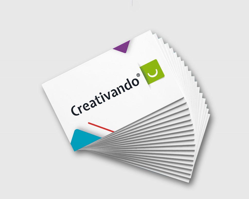 Tarjetas de visita de Creativando
