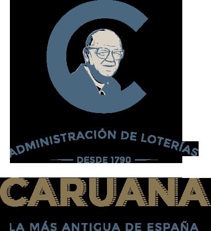 Logo Loterías Caruana - diseñado por Momo & Cía.