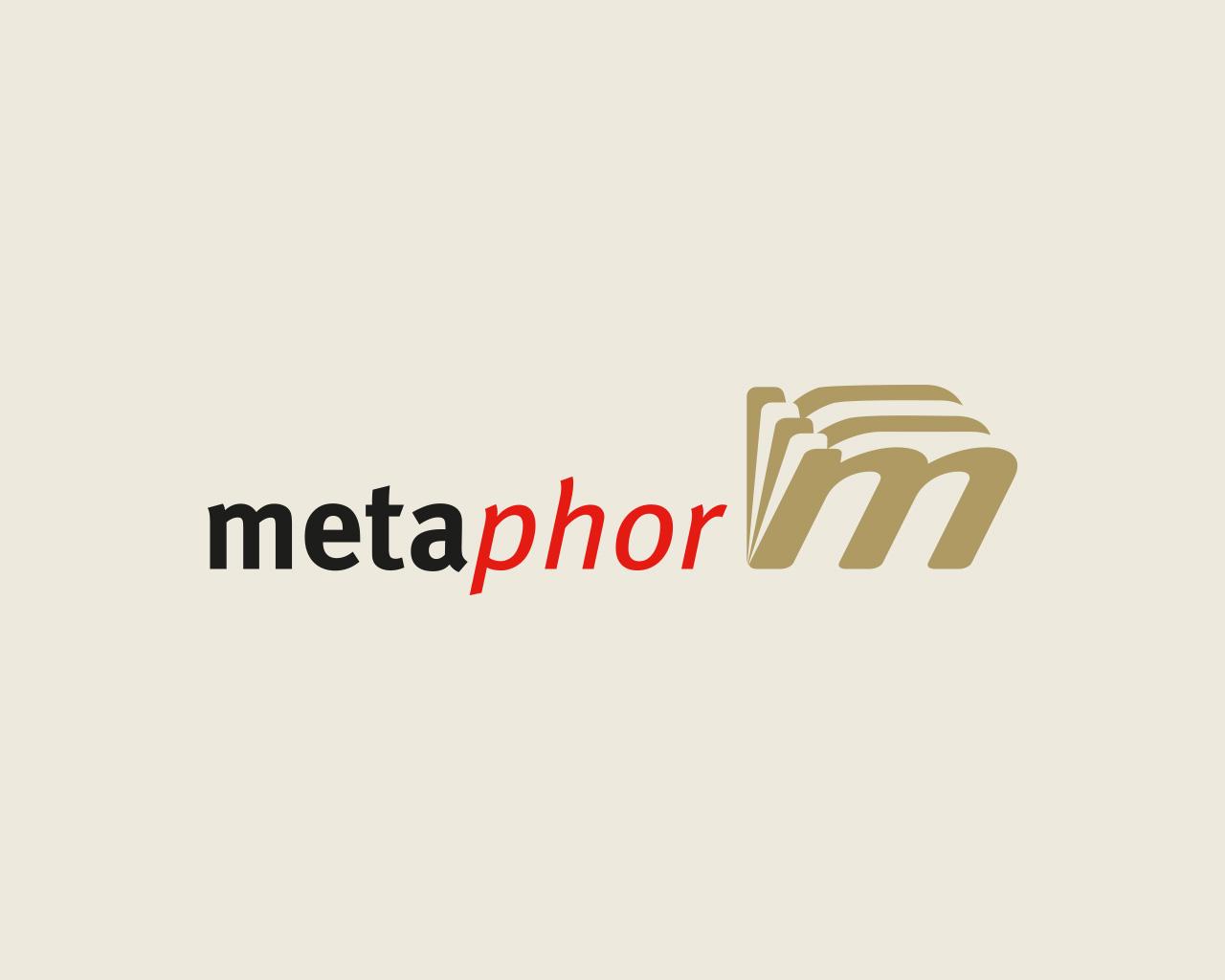 Logo Metaphor Informationsmanagement diseñado por Momo & Cía.