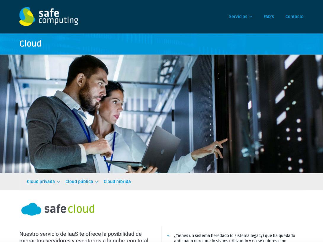 Web de Safe Computing